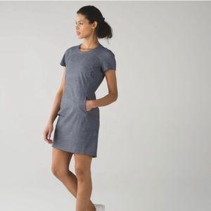 Lululemon Gray &Go Endeavor Dress